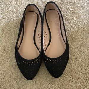 Kelly & Katie Black Flats